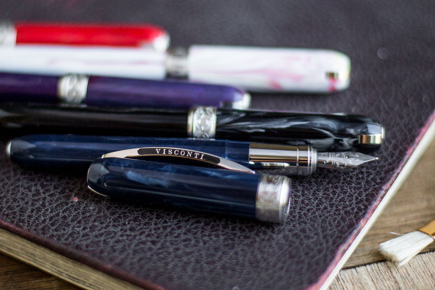 Visconti Rembrandt Fountain Pen - Blue