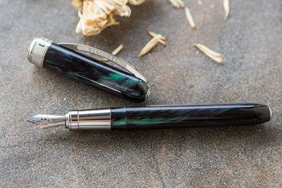 Visconti Rembrandt Fountain Pen - Dark Forest