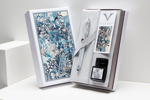 Visconti Van Gogh Fountain Pen - Old Vineyard with Peasant Woman (Gift Set)