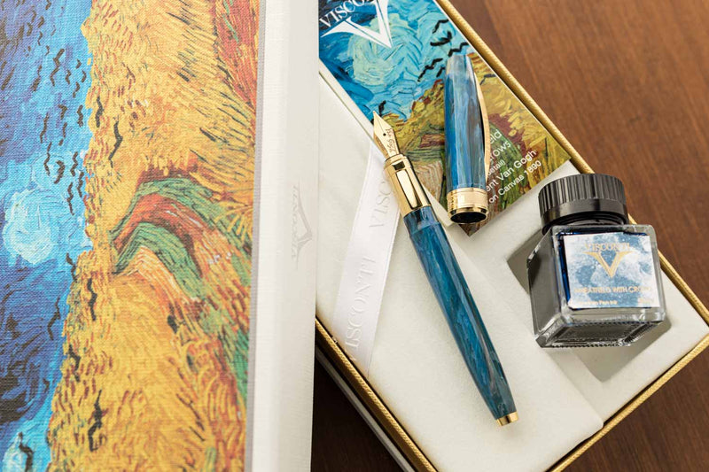 Visconti Van Gogh Fountain Pen - Wheatfield with Crows (Gift Set)