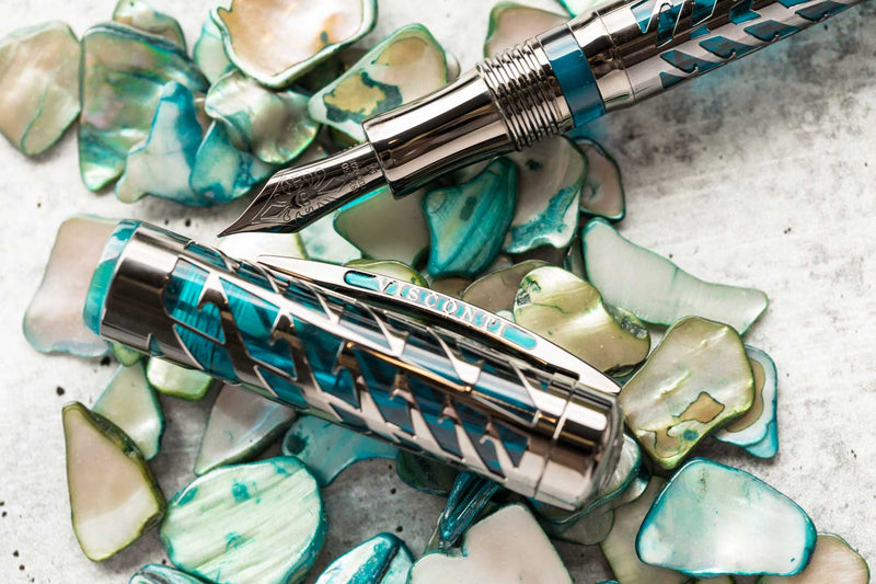 Visconti Watermark Fountain Pen - Blue Moon (Limited Edition)