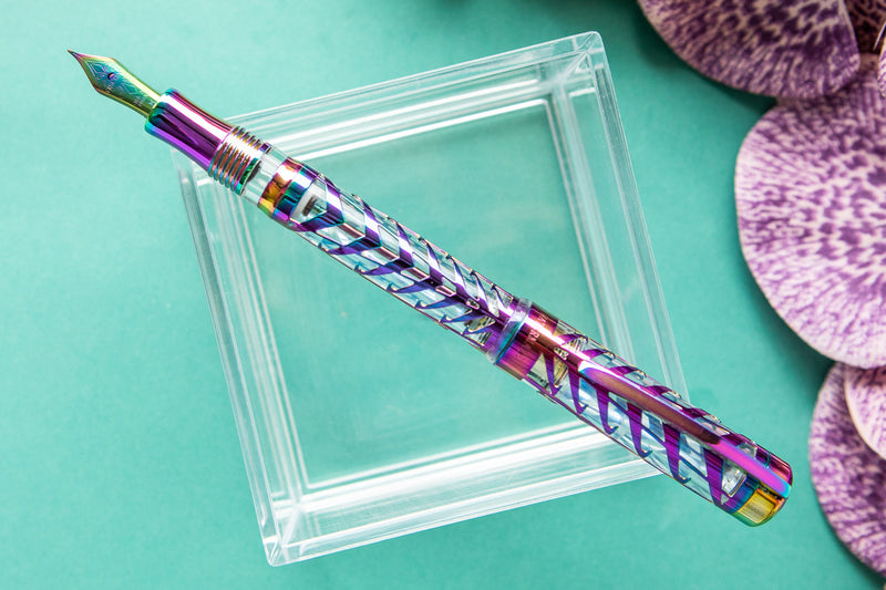 Visconti Watermark Fountain Pen - Rainbow Iridescent (Limited Edition)