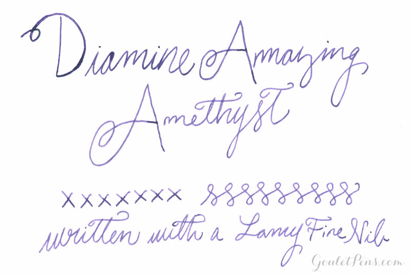Diamine Amazing Amethyst - Ink Sample