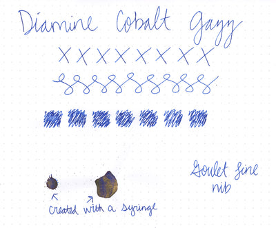 Diamine Cobalt Jazz - 50ml Bottled Ink