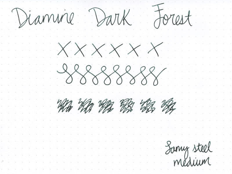 Diamine Dark Forest - 40ml Bottled Ink