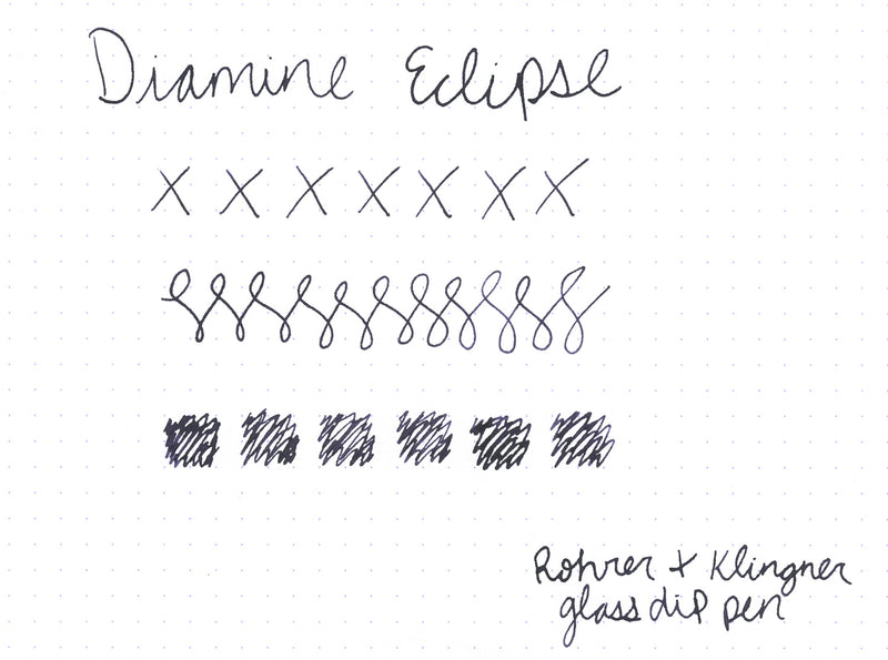 Diamine Eclipse - Ink Sample
