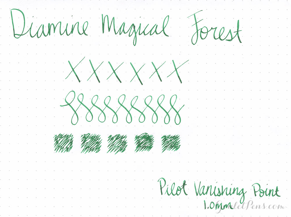 Diamine Magical Forest - Ink Sample