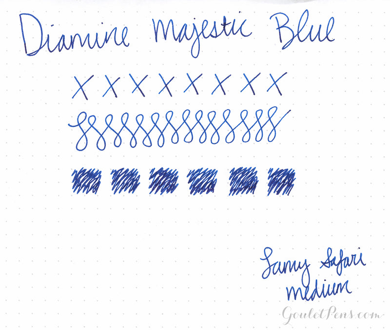 Diamine Majestic Blue - 30ml Bottled Ink
