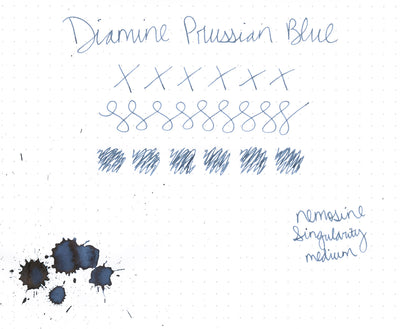 Diamine Prussian Blue - Ink Cartridges