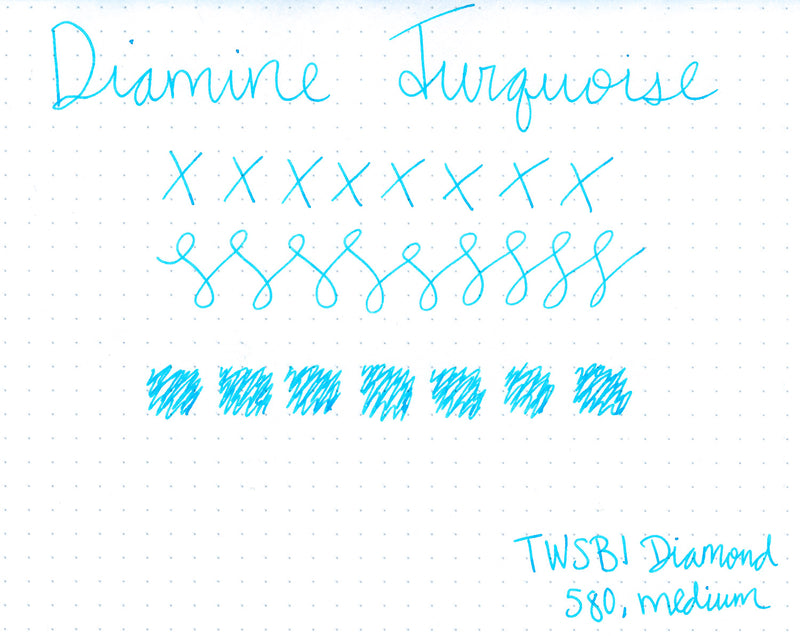 Diamine Turquoise - 30ml Bottled Ink