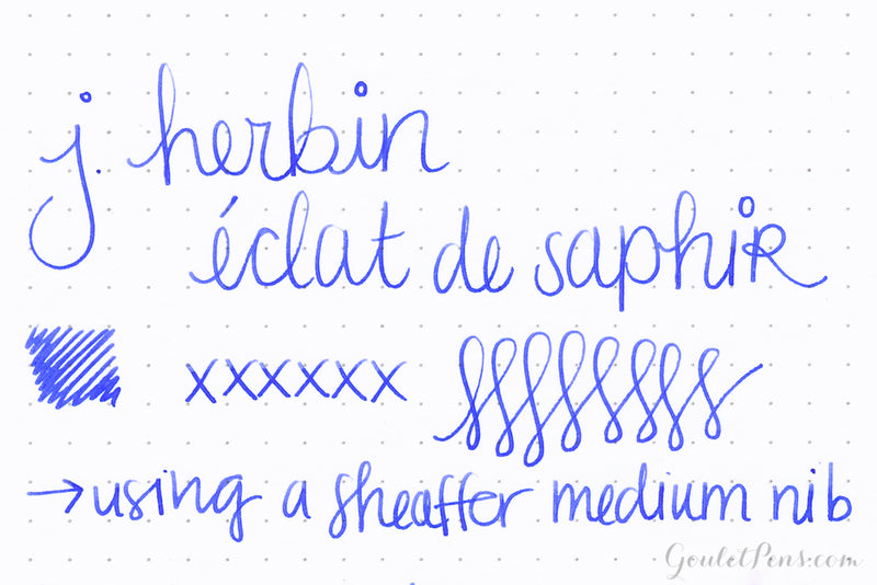 Herbin Eclat de Saphir - 100ml Bottled Ink