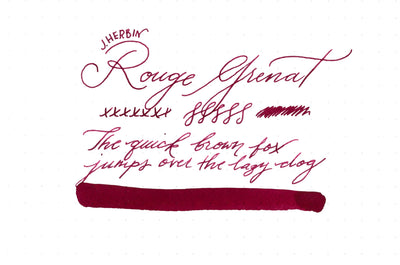Herbin Rouge Grenat - 30ml Bottled Ink