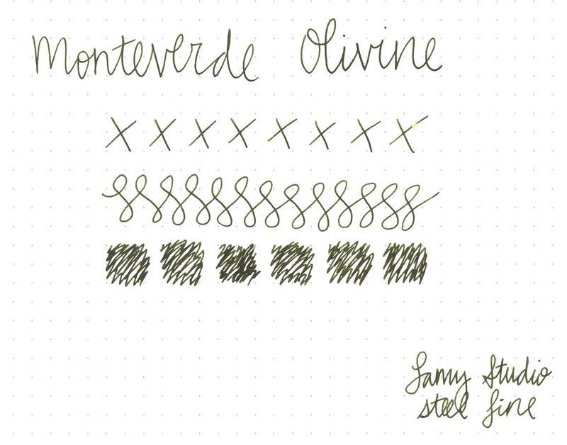 Monteverde Olivine - Ink Sample