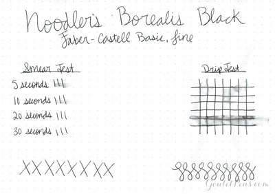 Noodler's Borealis Black - 3oz Bottled Ink