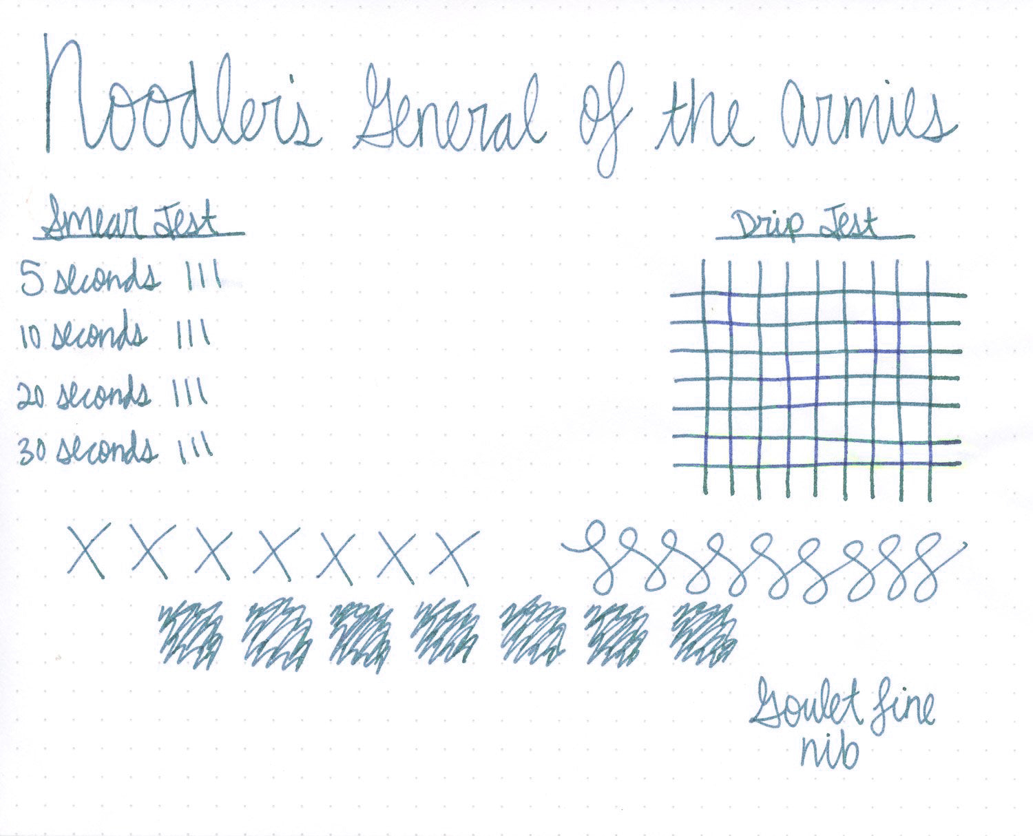 Noodler's General of the Armies - 3oz Bottled Ink