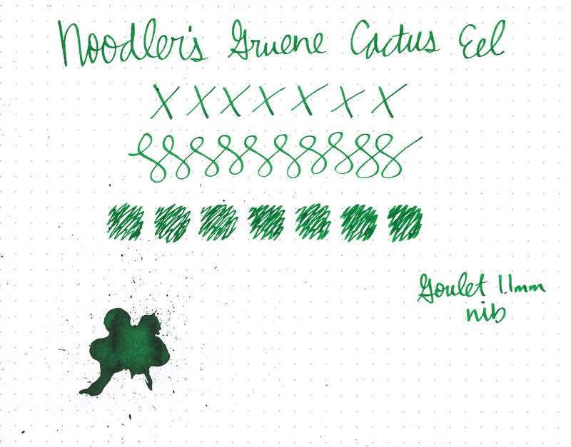 Noodler's Gruene Cactus Eel - 3oz Bottled Ink