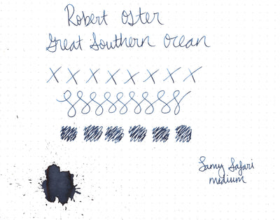 Robert Oster Great Southern Ocean - 50ml Bottled Ink