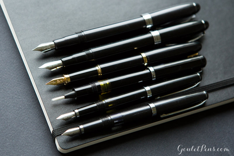 Noodler's Ahab Flex Fountain Pen - Black