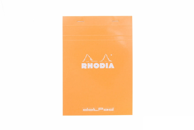 Rhodia No. 16 Notepad - Orange, Dot Grid (5.83 x 8.27)