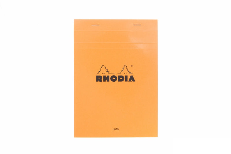Rhodia No. 16 Notepad - Orange, Lined (5.83 x 8.27)
