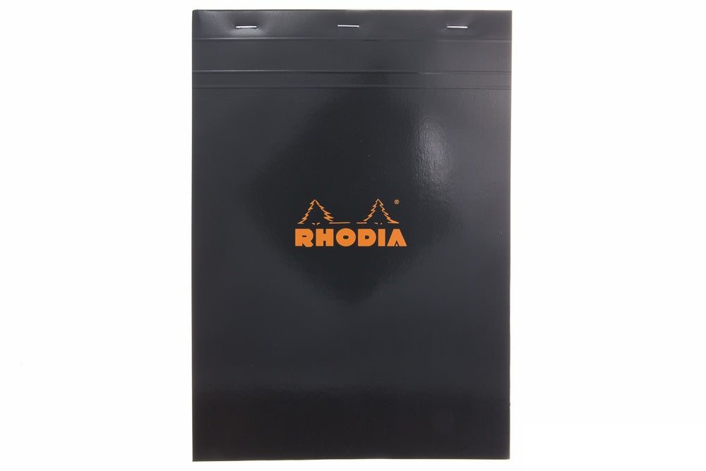 Rhodia No. 18 A4 Notepad - Black, Graph