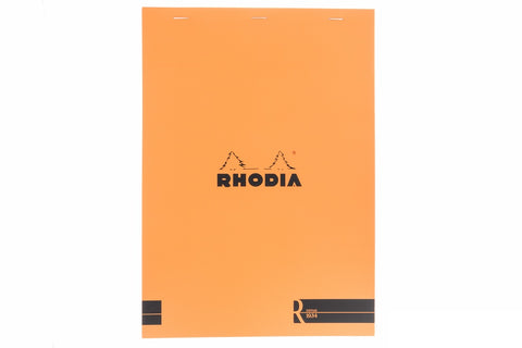 Rhodia No. 18 Premium Notepad - Orange, Blank (8.27 x 11.69)