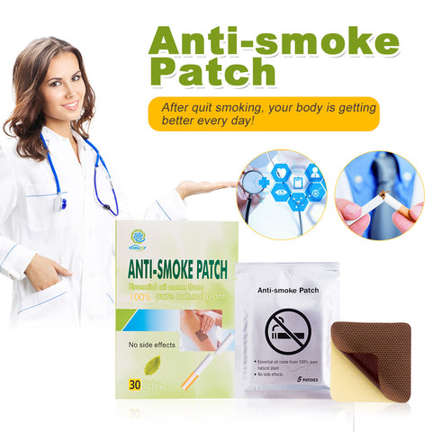 Anti Smoke Patch 30 Pieces/Box ( Free Shipping )