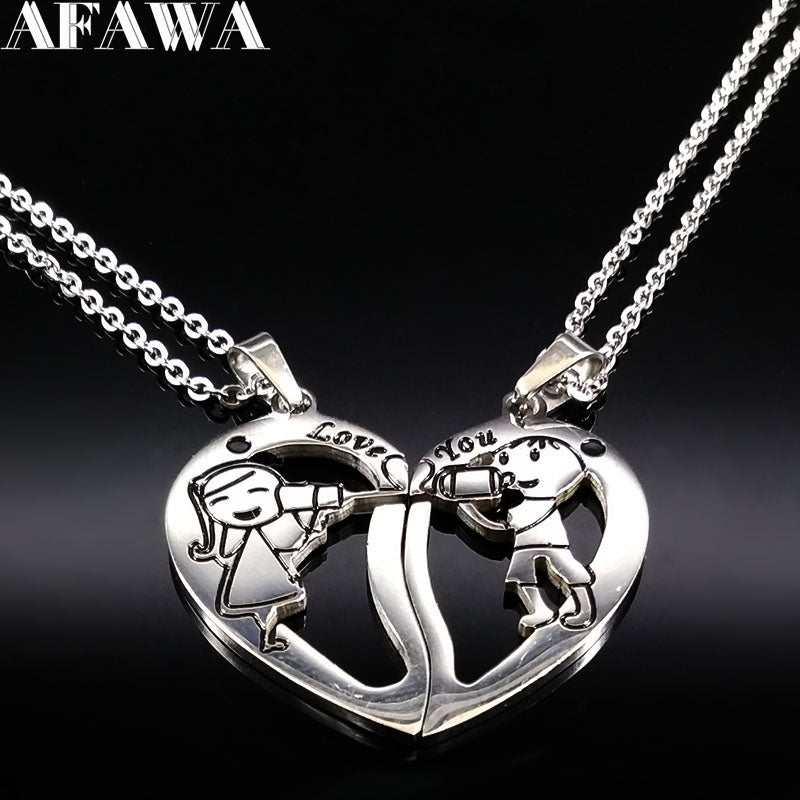 Boy and Girl for Couple Jewelry - safetybuys