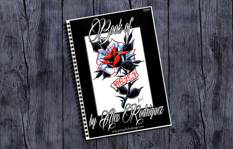 Sketch Book - Alex Rodriguez  - Book of Roses