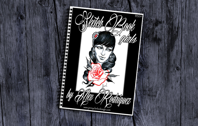 Sketch Book - Alex Rodriguez Girls