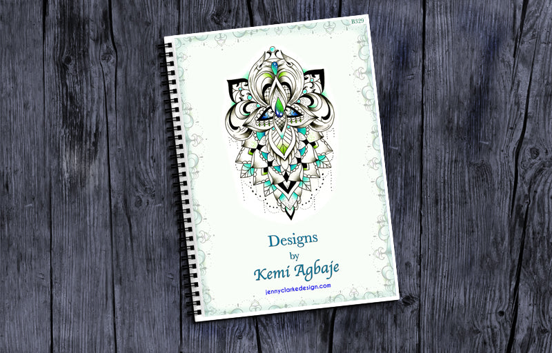 Colourful Lacey Ornamental Book