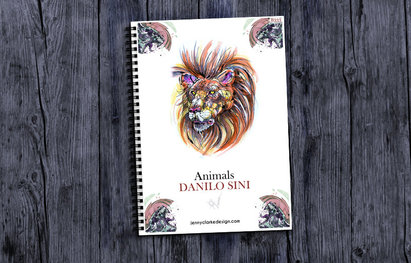 Powerful Animals Design Book