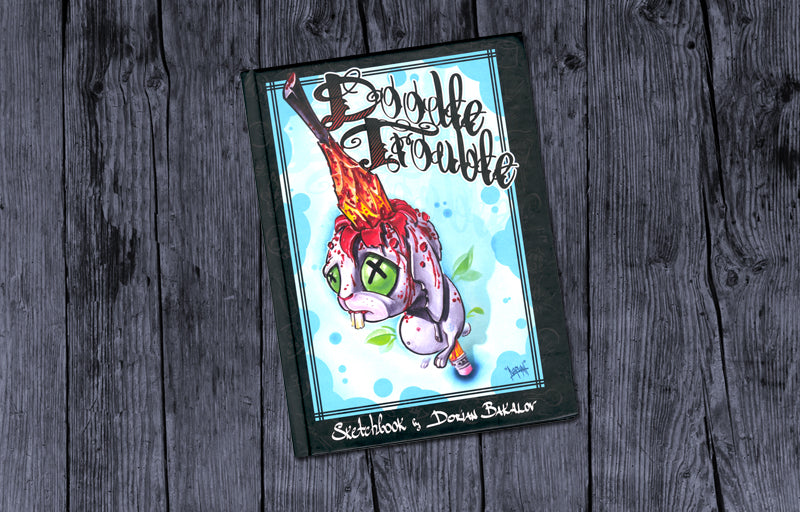 Doodle Trouble Sketch Book
