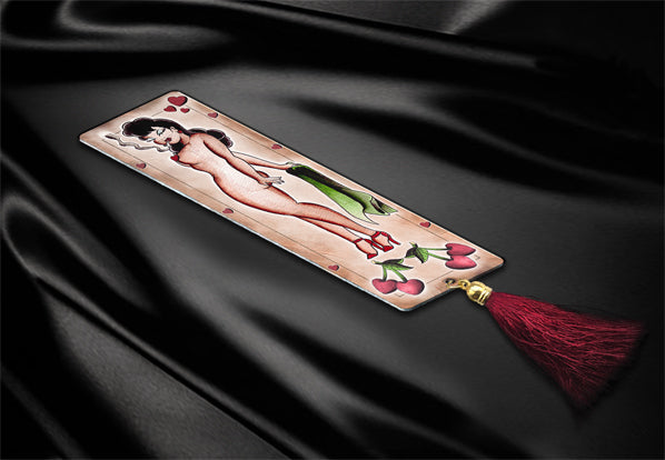 ddddddSweet Cherry Luxury Metal Bookmark