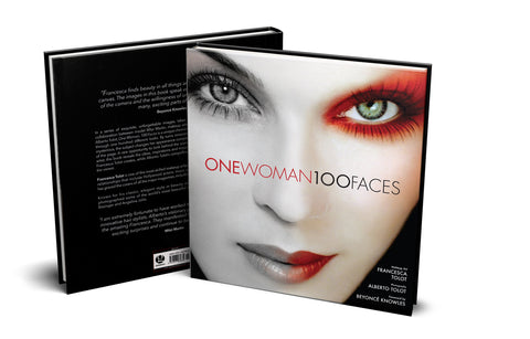 One Woman 100 Faces Book