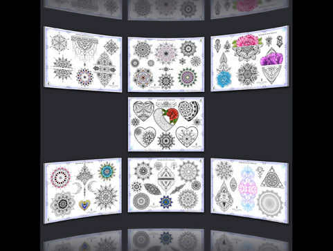 More Than Mandalas Set