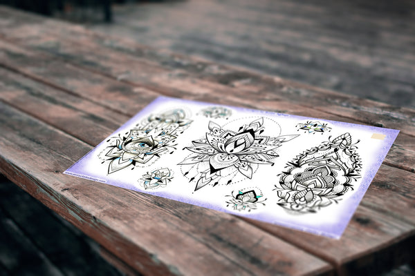 Beautiful Ornamental Designs Set