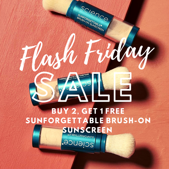 ⚡️FLASH FRIDAY SALE⚡️BUY 2 Colorescience Sunforgettable Brushes, GET 1 FREE