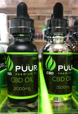 Puur CBD Oil 100mg-2,000mg | USA Vape Inc.