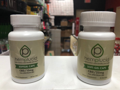 Hemplucid CBD Soft-Gel Caps | USA Vape Inc.