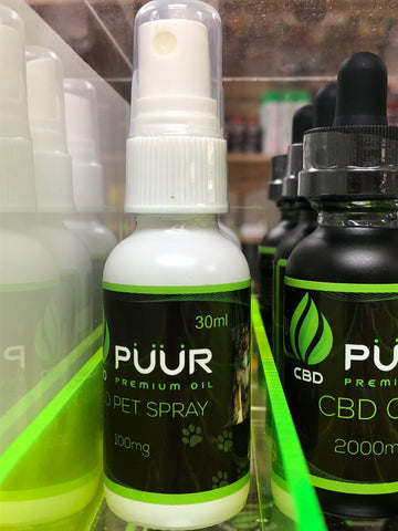 PUUR CBD Pet Spray | USA Vape Inc.