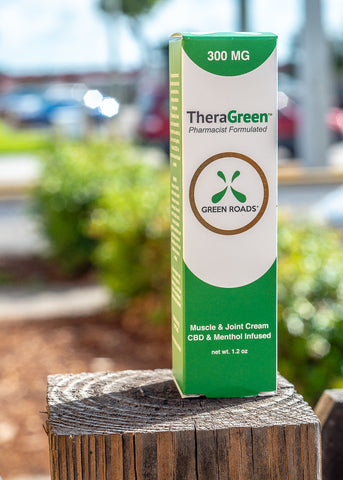Green Roads Theragreen CBD Cream | USA Vape Inc.