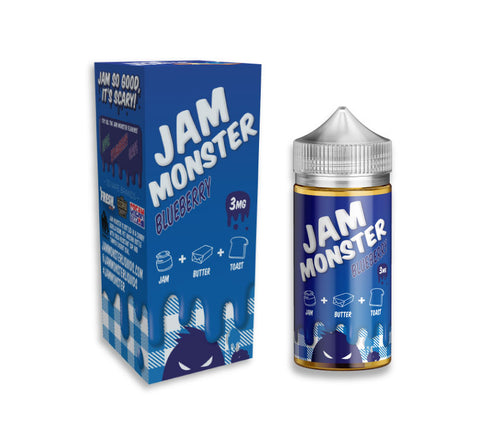 Jam Monster E-Liquid - Blueberry | USA Vape Inc.