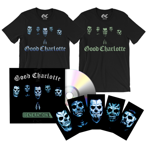 GC Glow Tee & CD Bundle