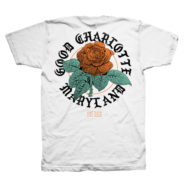 Rose Maryland Tee