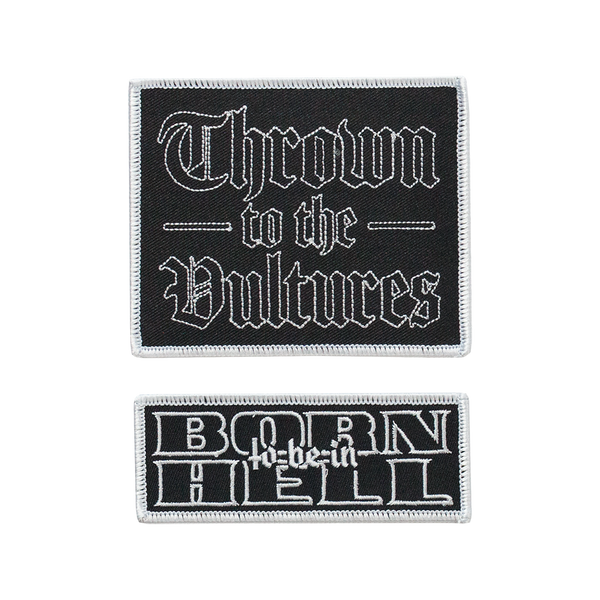 Hell Thrown Patch Set