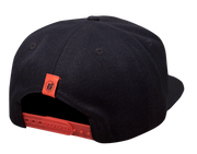 INTENSE HAT FLATBILL BLACK