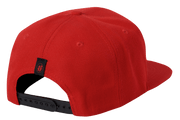 INTENSE HAT FLATBILL RED