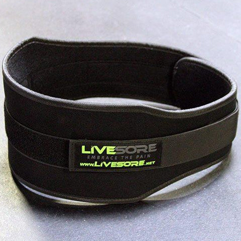 LiveSore Black Weight Belt