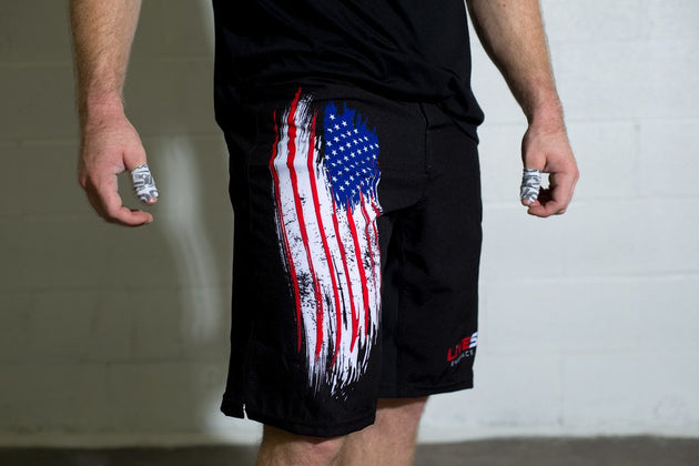 American Flag WOD Men's Shorts